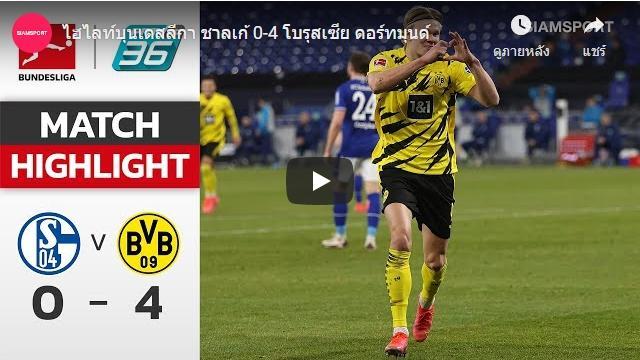Highlights Bundeslliga 21-02-2021