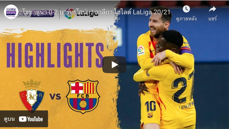 Highlights Laliga 6-03-2021